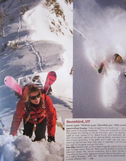 Snowbird-climb