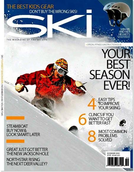 Ski Magazine - Caroline Gleich