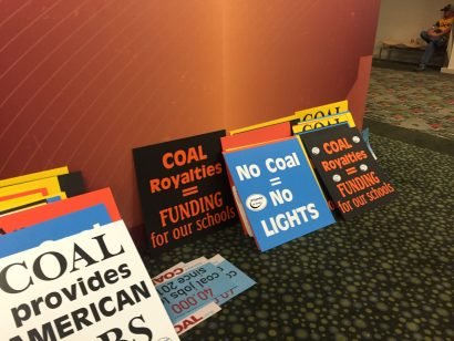 Pro Coal Poster